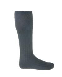 GLENCOE Charcoal kilt sock