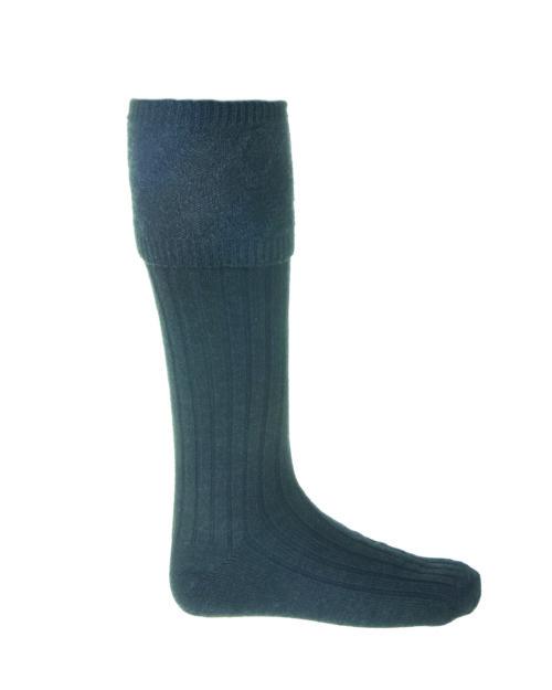 Glencoe Charcoal Kilt Socks