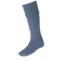 LEWIS ancient blue kilt-socks