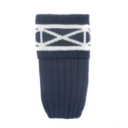 Saltire Kilt Socks Blue
