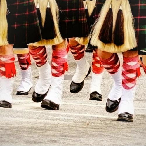regimental half-hose pipe band