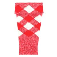 regimental half hose red white