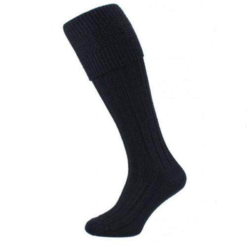 Black kilt socks (premium)