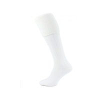 Cream or ecru classic plain kilt socks