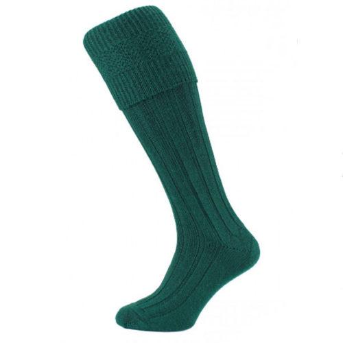 Green kilt socks (premium)