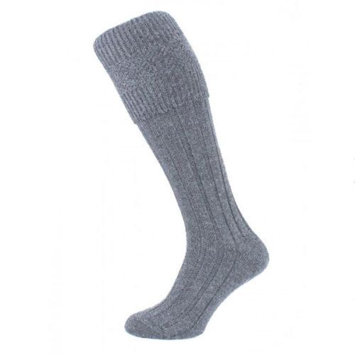 Grey kilt socks (premium)