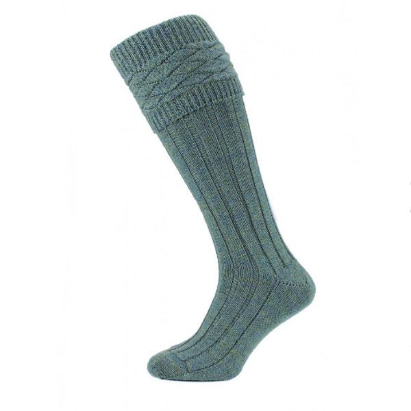 Patterned lovat kilt socks (mar)