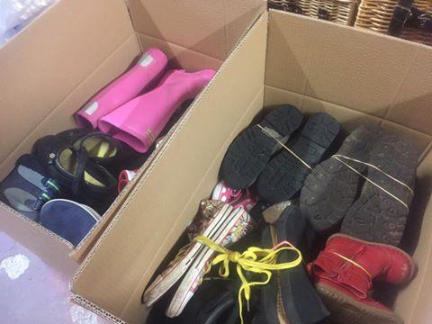 KiltSock.co.uk's donation to Sal's Shoes